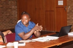Tsietsi Shuping from the Office of the PP